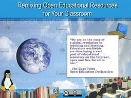 """K12 Open Ed - Free online workshop on """"Remixing Open Educational Resources for Your Classroom"""" 19.05.12 