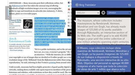 A Window to the World, Bing Translator App for Windows Now ... | Programming - WP | Scoop.it