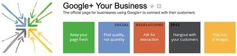 Why Your Business Needs to Be on Google+ Now | GooglePlus Expertise | Scoop.it
