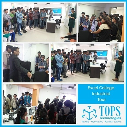 Students of Excel College Kalol visited TOPS Technology on 24th Feb 2016.<br/><br/>On&hellip; | IT Traininig | Scoop.it