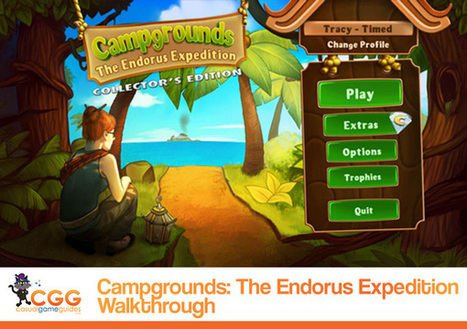 Campgrounds: The Endorus Expedition Walkthrough: From CasualGameGuides.com | Casual Game Walkthroughs | Scoop.it
