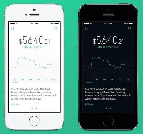 [Bon App'] Robinhood veut jouer les Robins des bois du trading mobile - FrenchWeb.fr | Crowdfunding, financement participatif, investissement | Scoop.it