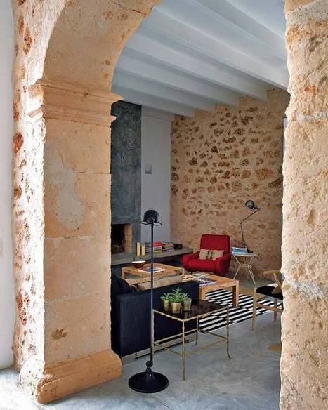 Beautifully restored oil mill in Mallorca | KOUBOO.com - Well Traveled Home Decor & Interior Design | Scoop.it