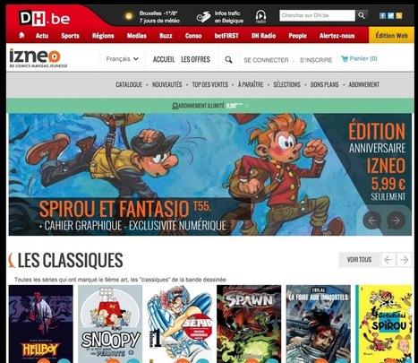 La BD numérique se déploie un peu plus dans les médias belges | enseignement disciplinaire info doc | Scoop.it