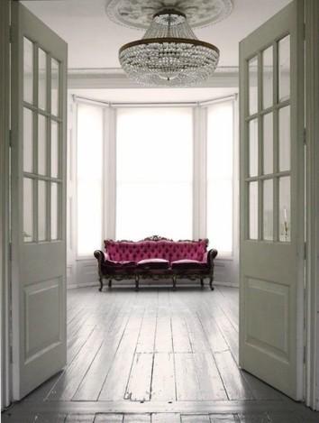 Noir blanc un style a londres tonnant - Maison victorienne londres ...