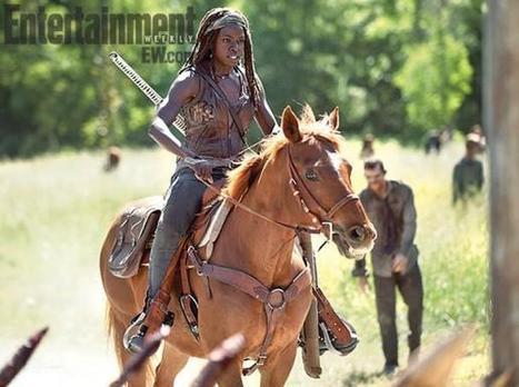 Michonne Is On A Horse In New THE WALKING DEAD Season 4 Still | ApocalypticFiction | Scoop.it