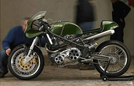Ala Verda 850 Norton Commando | Rogermotard | Scoop.it