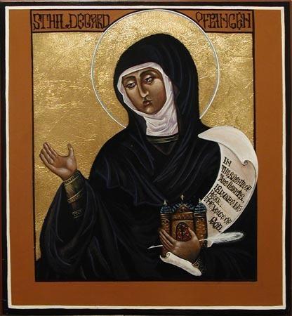 Happy Feast of St. Hildegard! | Eco Wonder | Scoop.it