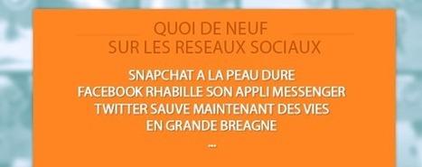 Ce qu'il faut savoir sur les réseaux sociaux : Snapchat a la peau ... | Derives reseaux sociaux | Scoop.it