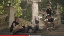 GEOX create 7 days of rain in Barcelona   Autour de Mathias: Social Media, Storytelling & Audiovisual   Scoop.it