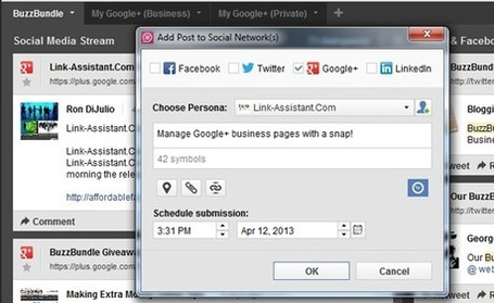 Social Media Tools That Support Google+: Solutions for Small Business | WEBOLUTION! | Scoop.it