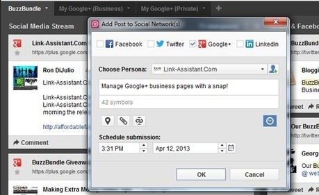 Social Media Tools That Support Google+: Solutions for Small Business | Easy Ways To Get Your Own List | Scoop.it