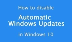 How to prevent Windows 10 from automatically downloading Windows Updates | Websites I Found So You Don't Need To | Scoop.it