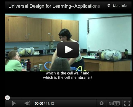 Universal Design for Learning–Applications in Biology | 21st Century Concepts- Student-Centered Learning | Scoop.it