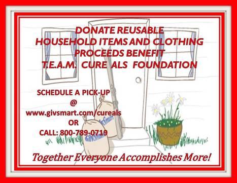 Oregon & Wasington Residents Donate Reusable Items for a CURE!   #ALS AWARENESS #LouGehrigsDisease #PARKINSONS   Scoop.it