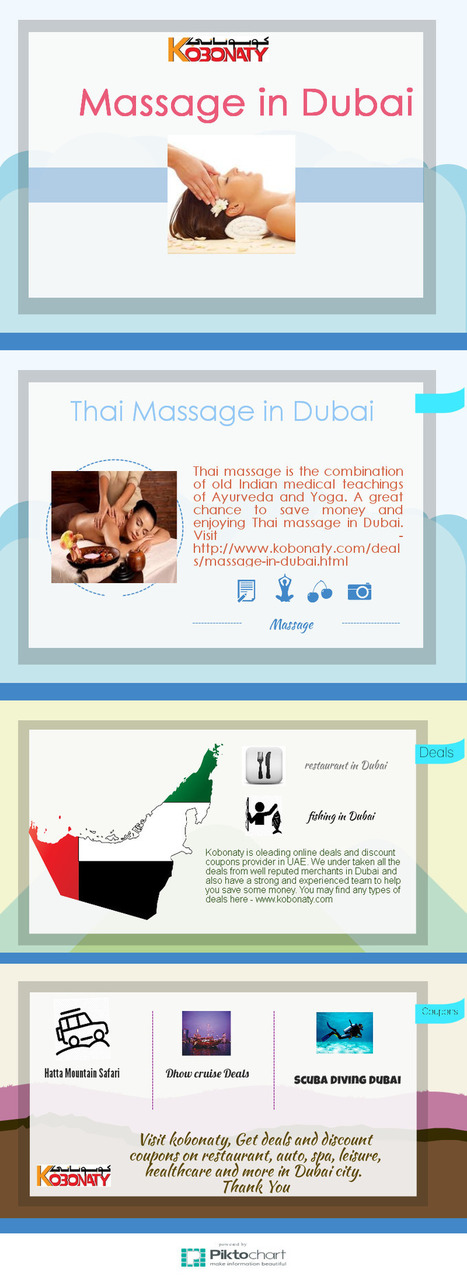 Massage in Dubai | Kobonaty deals and discounts coupons in Dubai | Scoop.it