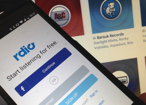 Rdio bets big on curation with new label and influencer radio stations | MUSIC:ENTER | Scoop.it