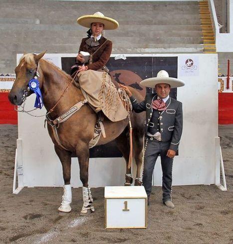 Abrió la segunda fecha de la Serie Mundial de Caladores de Caballos en la Nacional de Charros | Caballo, Caballos | Scoop.it