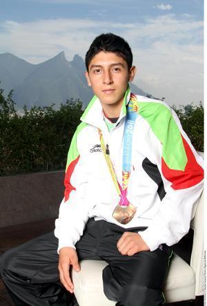 Alberto Vargas quiere competir en Juegos de Río 2016