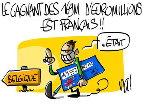 Le gagnant des 169 millions d'Euromillions est français ! | LAFORET MOLSHEIM | Scoop.it