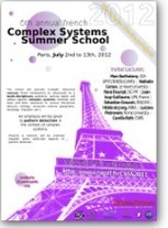 ISCPIF Complex Systems Summer School | CxConferences | Scoop.it