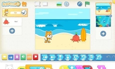 ScratchJr finally brings programming for juniors to the iPad | iPad Implementation | Scoop.it