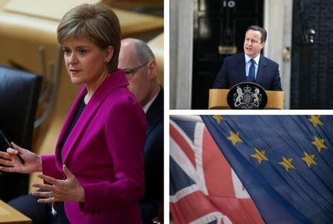 World Press highlights prospect of Scotland staying in EU as independent state | Politics Scotland | Scoop.it