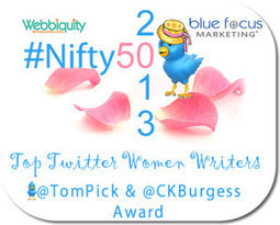The Top #Nifty50 Women Writers on Twitter for 2013 | Soup for thought | Scoop.it