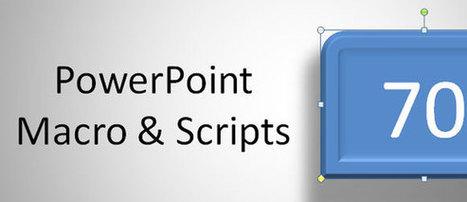 Using PowerPoint Scripts & Macros | PowerPoint Presentation | Ofadis : Formez vous autrement | Scoop.it
