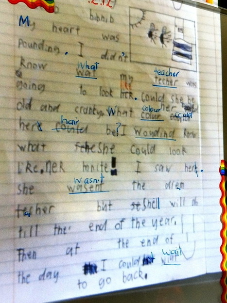 Life is not a race to be first finished » Blog Archive » Transforming proofreading with an iPad | Using iPad's in the Classroom | Scoop.it