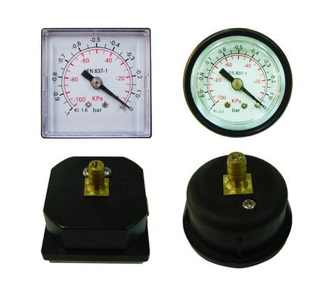 Panel Mounted Pressure Gauge (Plastic Case) - 8621 6448-1883   matsd   Scoop.it