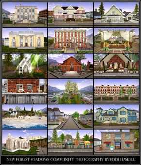 Great Second Life Destinations:  New Forest Meadows Community Part 2 -- Homes and Residential Buildings | gertics | Scoop.it