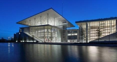 Ένα πολιτιστικό «στολίδι» μονάκριβο μα και εύθραυστο: Η νέα Βιβλιοθήκη και η νέα Εθνική Λυρική Σκηνή στο φαληρικό Δέλτα | Interior Design | Scoop.it