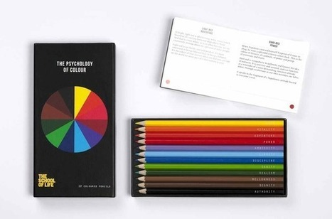 The Psychology of Color Pencil Set | Inspired By Design | Scoop.it