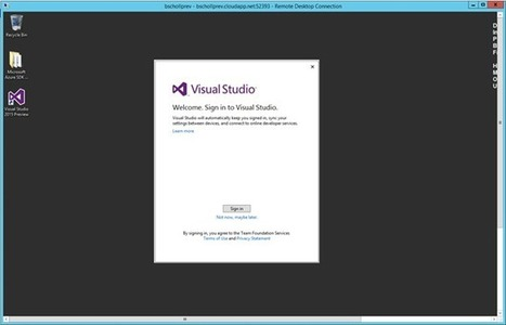 Azure Virtual Machine Images for Visual Studio - The Visual Studio Blog - Site Home - MSDN Blogs | Alkampfer's place | Scoop.it