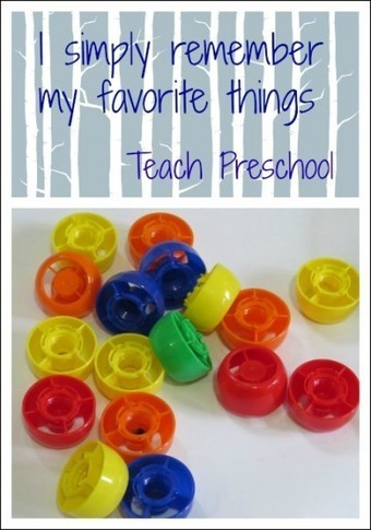 I simply remember my favorite things | Kindergarten | Scoop.it