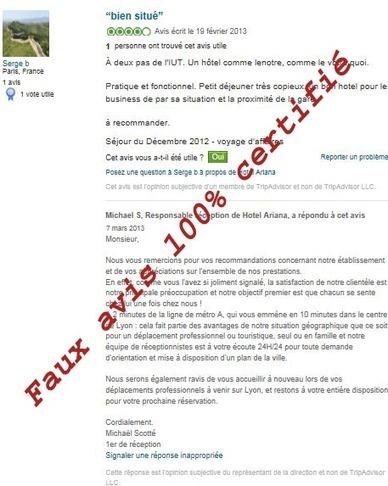 Normes AFNOR sur les avis clients: démonstration par l'absurde   Tourisme veille info   Scoop.it