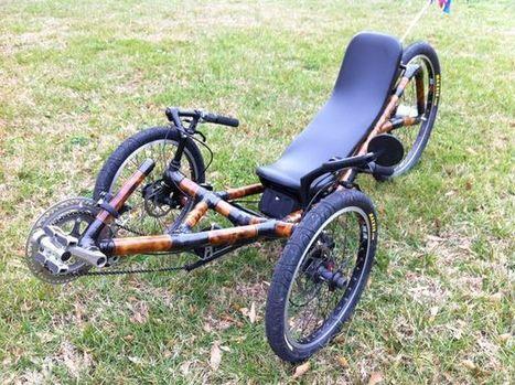 Building a Recumbent Bamboo Trike Frame | Bici reclinada - Recumbent bike - Vélo couché | Scoop.it