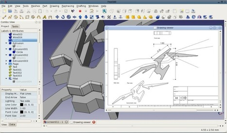 FreeCAD 0.13.1582 Beta / FreeCAD 0.12.5284 Stable | Nouvelles des TICE | Scoop.it