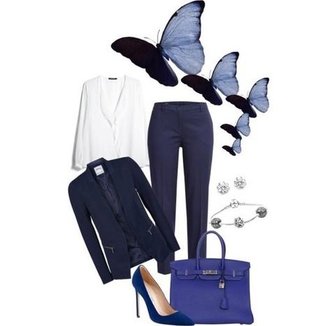 Work in Blue! | Fashionista 4ever | Scoop.it