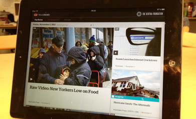 Curated video world news iPad app launches | Convergence Journalism | Scoop.it