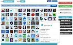 10 outils en ligne pour gerer ses followers sur Twitter | Les réseaux sociaux : je surveille, tu surveilles... | Scoop.it