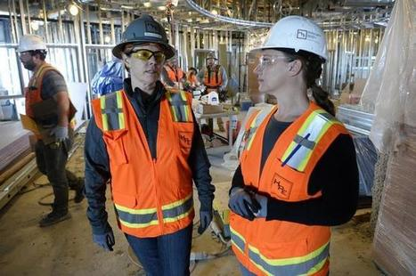 Construction firms look to untapped resource for workers — women | Developing Job and Career Skills | Scoop.it