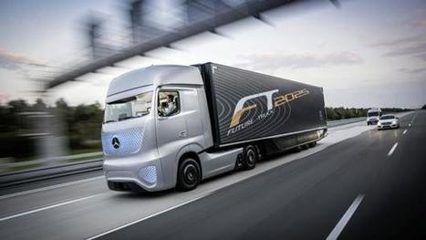 Amazing new Smart Self Driving Truck From Mercedes | Technology in Business Today | Scoop.it