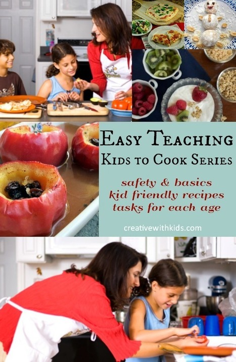 We Love Cooking with Kids – 10 Basics to Make it Work | Grow with Kids | Scoop.it