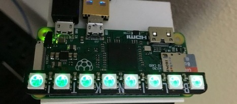 Colorful Display Keeps Track of Your Network   Arduino, Netduino, Rasperry Pi!   Scoop.it