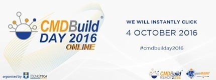 04th October 2016<br/>10.00 a.m CEST<br/>online<br/><br/>One day lef to the international&hellip; | CMDBuild | Scoop.it