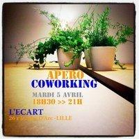 Apéro-Coworking d'Avril | CoworkingLille | Coworking & tiers lieux | Scoop.it