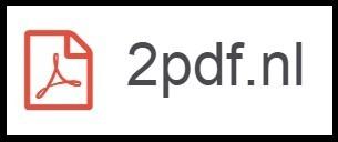 PDF-bestanden omzetten naar Word met 2pdf.nl | Nieuwsbrief H. van Schie | Scoop.it