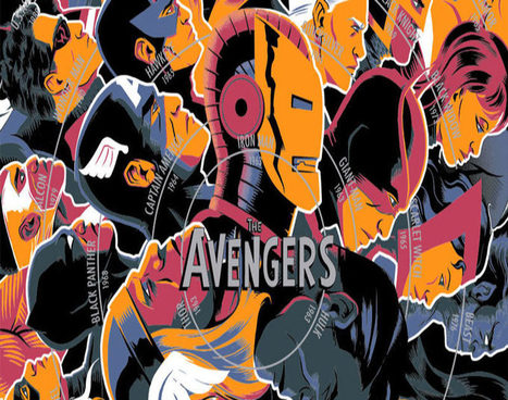 Check Out Mondo's Incredible New Pop-Culture Infographics | Comic Book Trends | Scoop.it